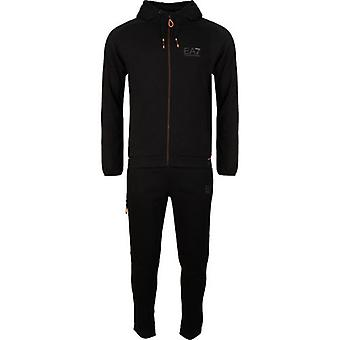 Ea7 Natural Ventus 7 Hooded Tracksuit