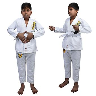 VELO Kids BJJ GI Brazilian Jiu Jitsu Suit Uniform Boy