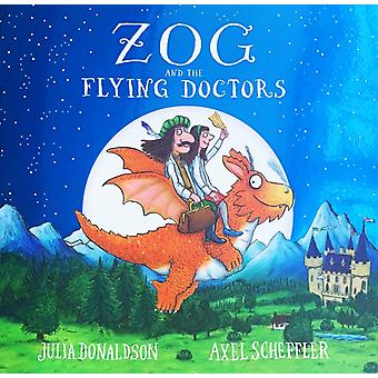 Zog and the Flying Doctors foiled PB by Donaldson & Julia