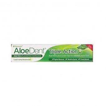 Aloe Dent - Aloe Vera Toothpaste With Q10 & Tea Tree