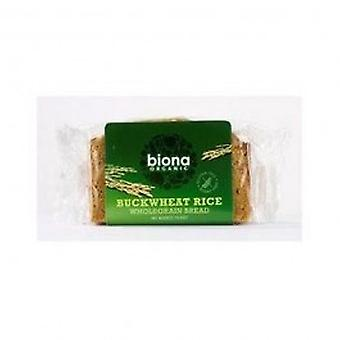 Biona - Organic Rice Buckwheat Bread 250g
