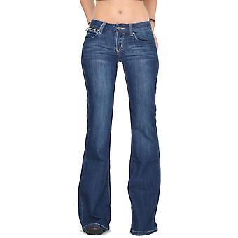 70s Style Hipster Bell-Bottom Flared Jeans