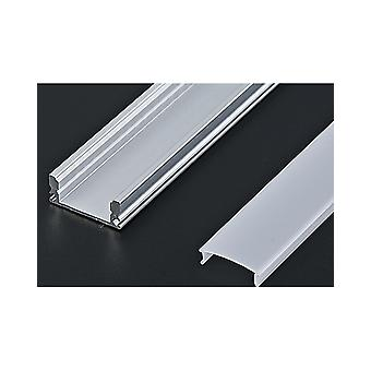 Aluminium Profile For Led Strip With Cover 2 Mts