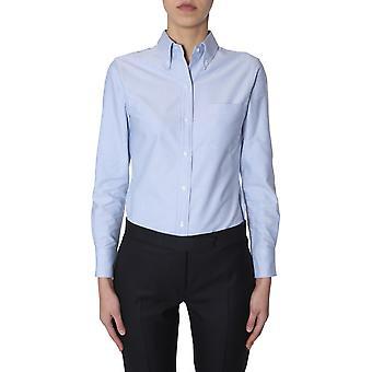 Thom Browne Fll005e04625480 Women's Light Blue Cotton Shirt