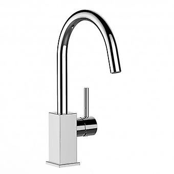 Kitchen Single-lever Sink Mixer With High Swivel Spout - 64