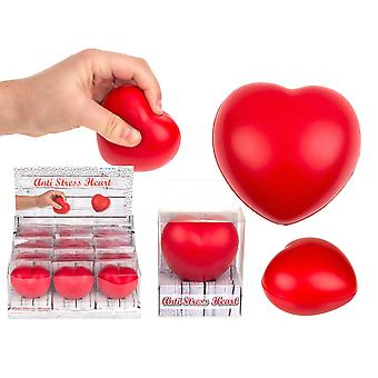 Clamp ball Stress ball Relax Heart 6cm