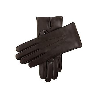 Men's Classic Cashmere Lined Leather Gloves