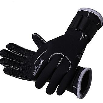 3mm Neoprene Swimming Gloves- Snorkeling Equipment Anti Scratch Keep Warm
