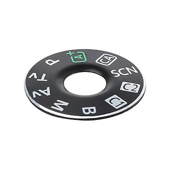 Camera Function Dial Mode Interface Cap Button Repair Parts For Canon Eos 6d
