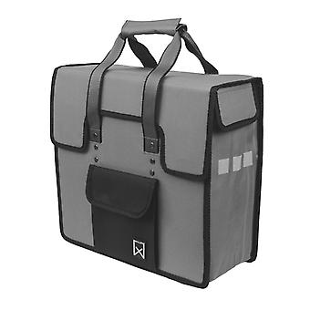 Willex Bicycle Bag 18 L Grey and Black 10106