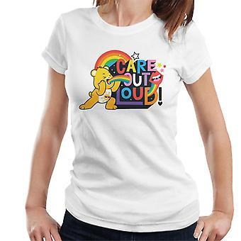 Pflege Bären entsperren die Magie Pflege out laute Frauen's T-Shirt