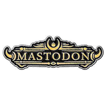 מסטודון פין תג קיסר של לוגו להקת חול חדש דש מתכת רשמי