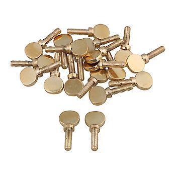 20pcs Soprano Alto Tenor Saxophone Clarinet Neck Screws Tightening Golden
