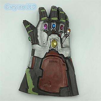 The  4 Endgame Thanos Led  Gauntlet  Stones War Led Glove For Halloween