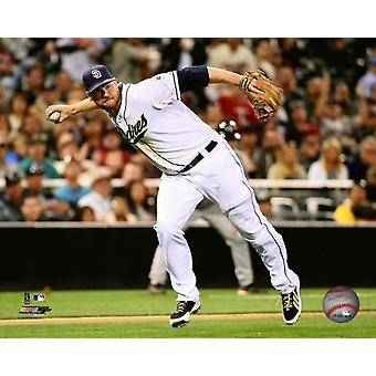 Chase Headley 2014 Action Photo Print