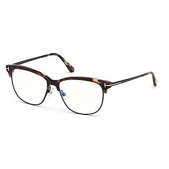 توم فورد TF5546-B 055 نظارات هافانا الملونة