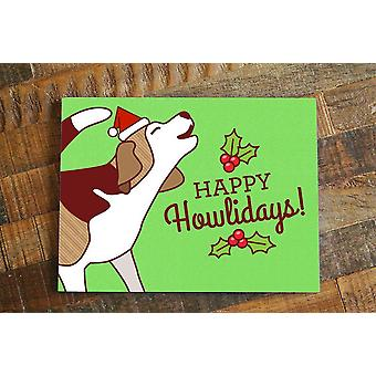 Happy Howlidays! Beagle Christmas Card