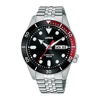 Lorus RL447AX-9 Black Dial Day Date Montre-bracelet automatique