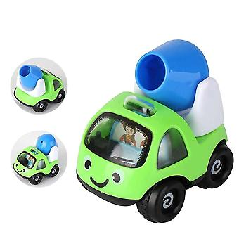 Boys And Girls Mini Cartoon Engineering Vehicle Inertia Car, Children's Cute Car Airplane Model Educational Toy Gift