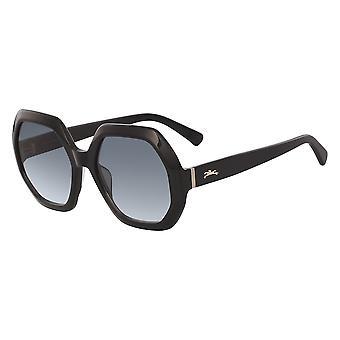 Longchamp LO623S 005 Ebony/Grey Gradient Sunglasses