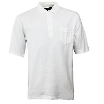 Nike Golf Manga curta Mangas Brancas Camisa Polo Camiseta Masculinas 163003 100 Y28A