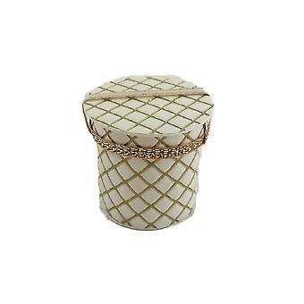 קרם &בובות בית זהב גבוה כובע תיבת חדר שינה מילינר חנות מיניאטורי אביזר