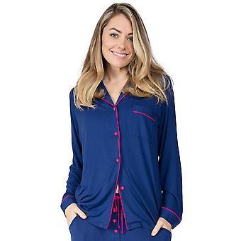 Cyberjammies Ariana 4723 Women's Navy Blue Modal Pyjama Top