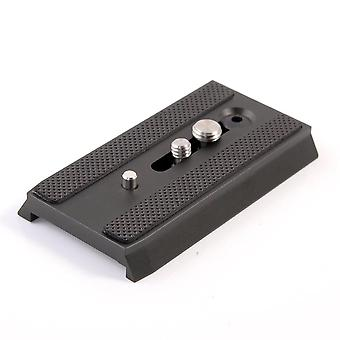 """501Pl sliding quick release plate with 1/4"""" 3/8"""" screw for manfrotto 501 503 701 hdv rc5 mh055m0-q5"""