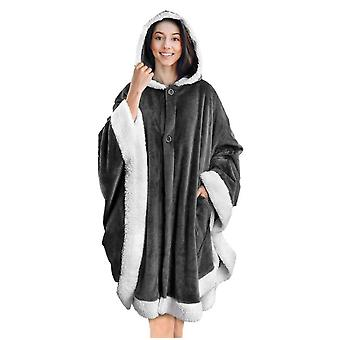 Manteau à capuchon Angel Wrap-around | Poncho Soft Sherpa Wool Fleece Blanket Hot Hood With Pocket Poncho Soft Sherpa Wool Fleece Blanket Hot Hood With Pocket Poncho Soft Sherpa Wool Fleece Blanket Hot Hood With Pocket Poncho