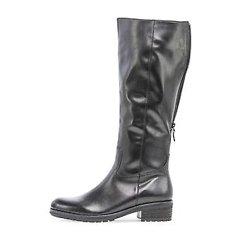 Gabor foulardcalf schwarz laarzen dames zwart 003