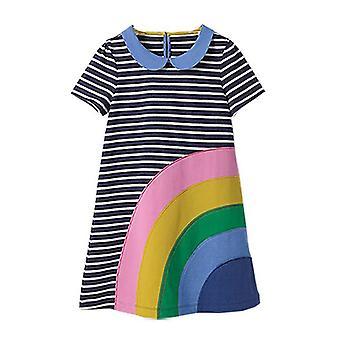 Party-Kleid, Regenbogen-Design, Kleinkind