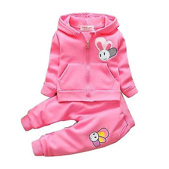 Baby Girls Long Sleeve Top And Pants Set