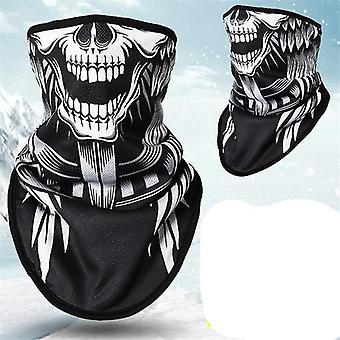 冬のフリーススキースカーフマスク