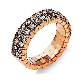 Luna Creation Classic Ring Pavé 1N622R853-3 - Largura do anel: 53