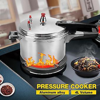 MECO 4L Autocuiseur à pression en aluminium Cuiseur rapide Pour cuisine