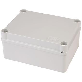 Gewiss GW 44 236 Junction Box IP55 Quick Fix Lid Grey 150 x 110 x 70mm No Holes