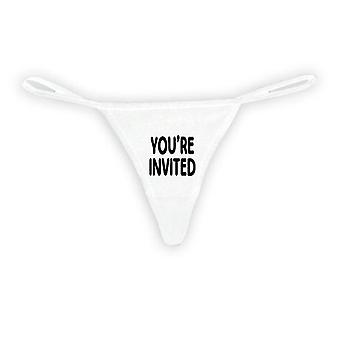 Naiset's S*xy Thong Your Invited