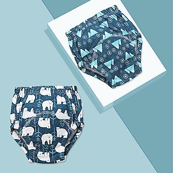 Baby Cotton Training Pants Diapers Reusable Cloth Diaper Nappies