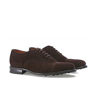 Loake Camurça Semi-Brogue Sapatos Oxford