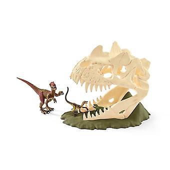 Schleich große Schädelfalle mit Velociraptor