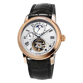 Frederique Constant Heart Beat 18K Rose Gold Automatic Men's Watch FC-945MC4H9
