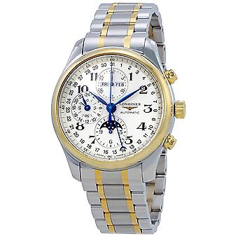 Longines Master Complications Automatic Men's Two Tone Watch L2.773.5.78.7