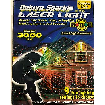 Deluxe laser lysshow