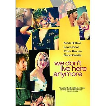 Wir Don't Live Here Anymore (2004) [DVD] USA importieren