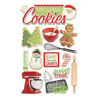 Paper House Productions - 3D Stickers - Christmas Cookies