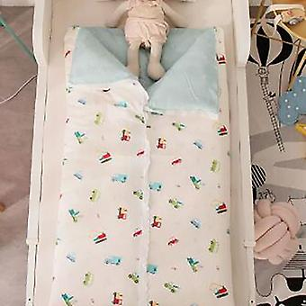 Baby Crib Quilt Cover, Kids Cotton Infant Sleeping Bag, Sack Covers, Printing