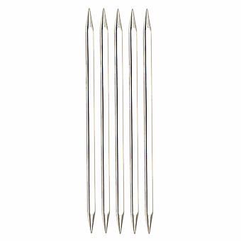 KnitPro Нова Кабины: Вязание Пины: Двойной конец: Набор из пяти: 15см х 3,75 мм