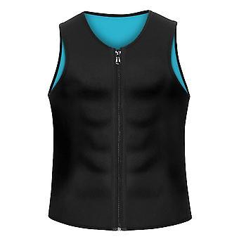 Men&s Body Shaper, Hot Sweat Workout Tank Top Kamizelka odchudzająca