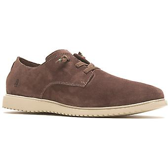 Hush Puppies everyday leather Mens Smart Shoes brown water resistant UK Size