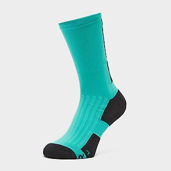 """New Fox Men's 8"""" Ranger Cushion Socks Green"""